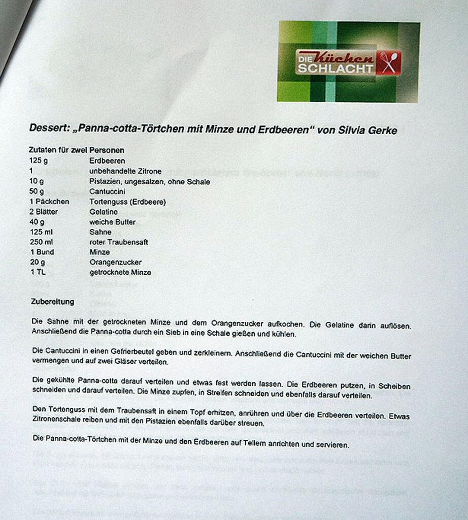 Rezept Pannacotta Törtchen