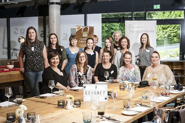 Gruppenfoto Blogger Event Gourmet