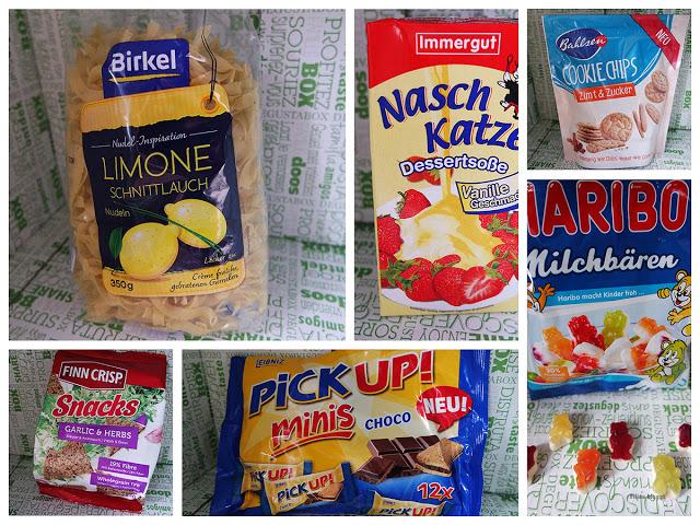 Produkte aus der Degustabox Juli 2016