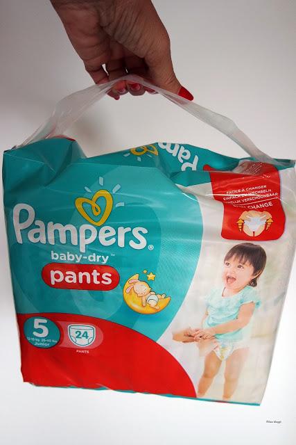 Vorteil von Höschenwindeln dank Pampers