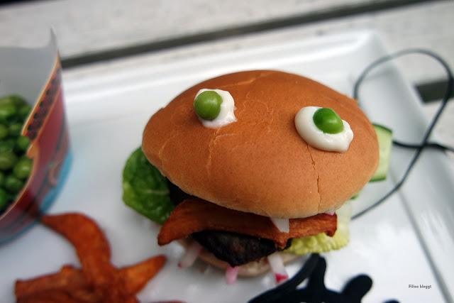 Kinderechtes Essen und Burger zaubern