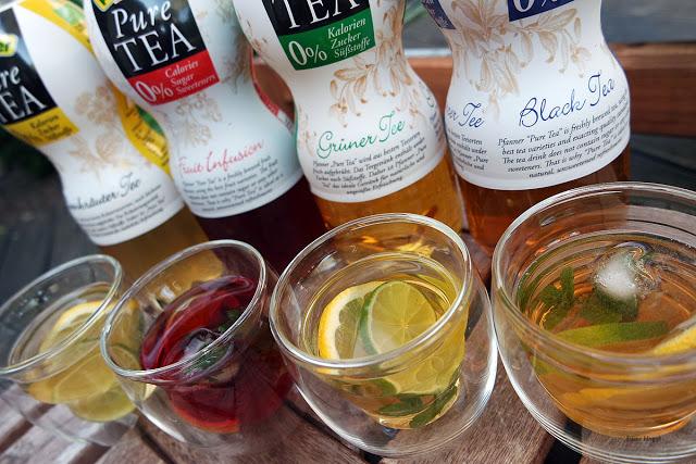 Neue Teegetränke von PFANNER
