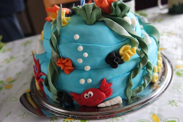 Filines Testblog, Backen, Torte, Geburtstag, Tauchen, Meer
