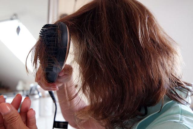 Produkttest mit Haarglätter und Rezension