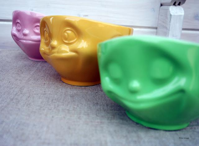 Kindergeburtstag mit lustigen Schalen aus Porzellan