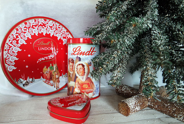 Lindt Schokokugeln in Metalldosen