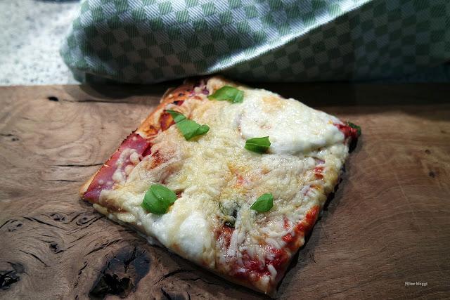 Rezept für schnelle Pizza