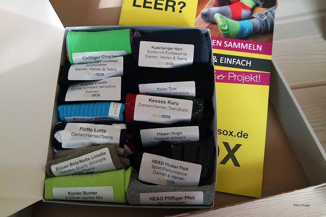 Filines Testblog, BUXandSOX, Produktvorstellung