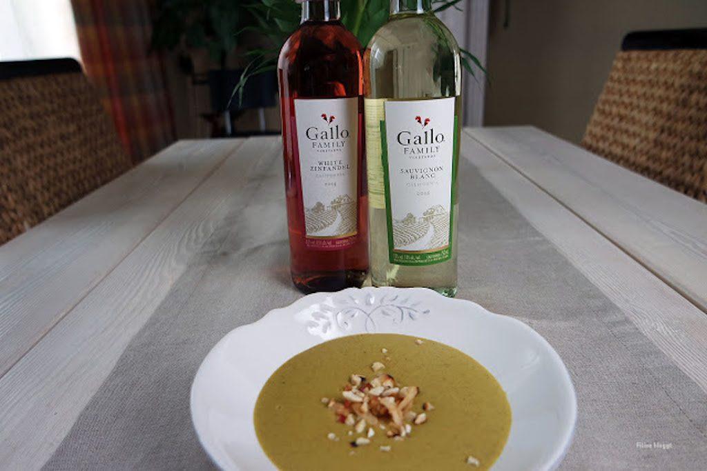 Gallo Wein zur Linsensuppe