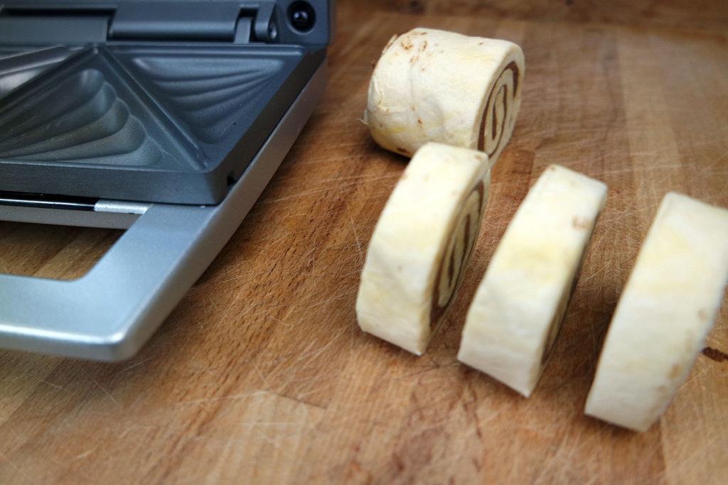 Sandwichmaker,Zimtschnecken