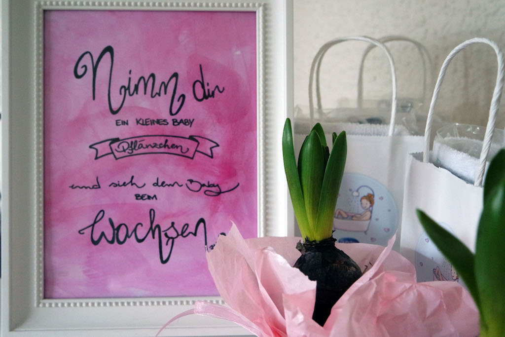Wunsch-Bilderrahmen,Babyshower