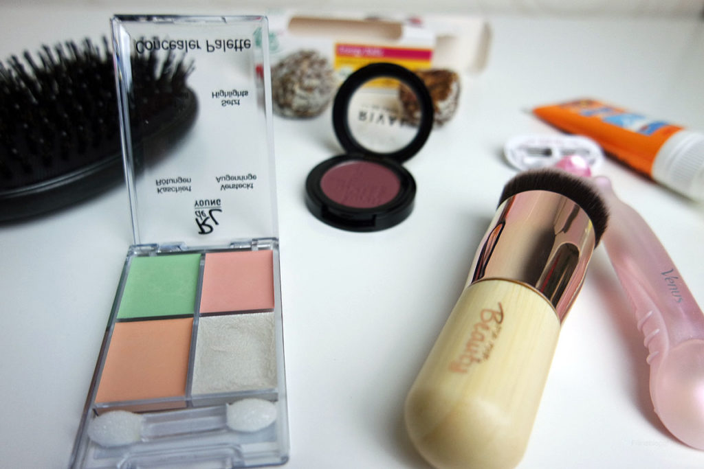 Beautyprodukte und Make up