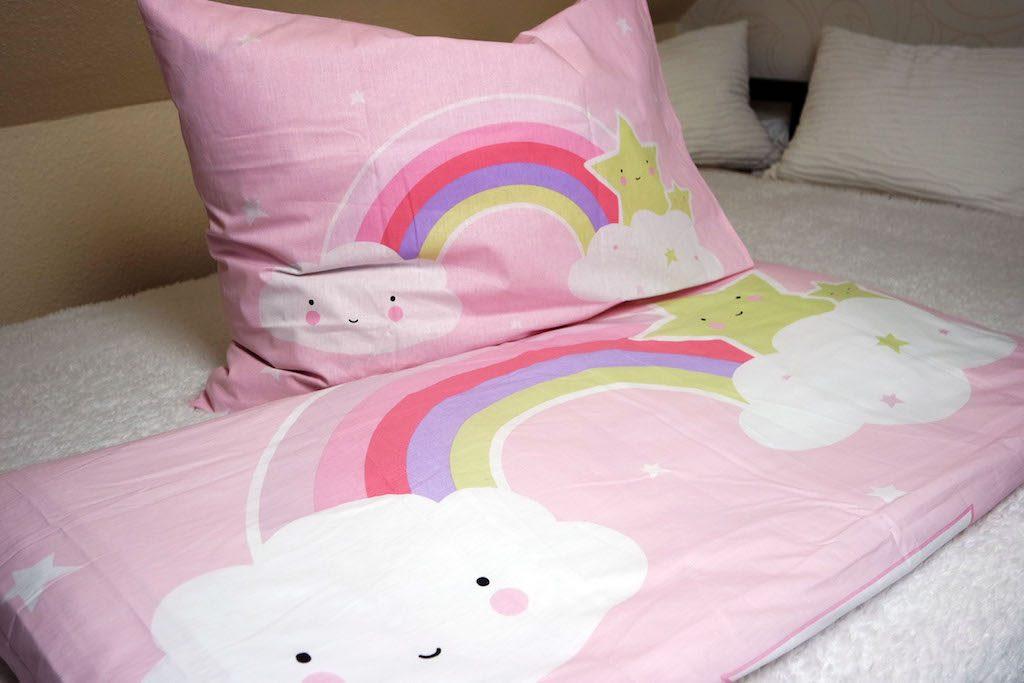 Kinderbettwäsche rosa
