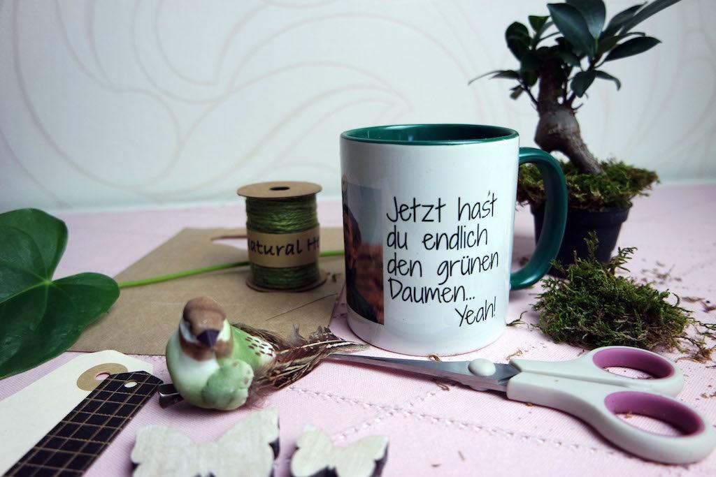 Geschenkverpackung Tasse