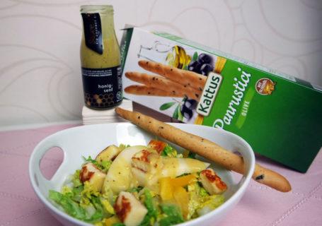 Rezeptidee Salat mit Honig-Senf