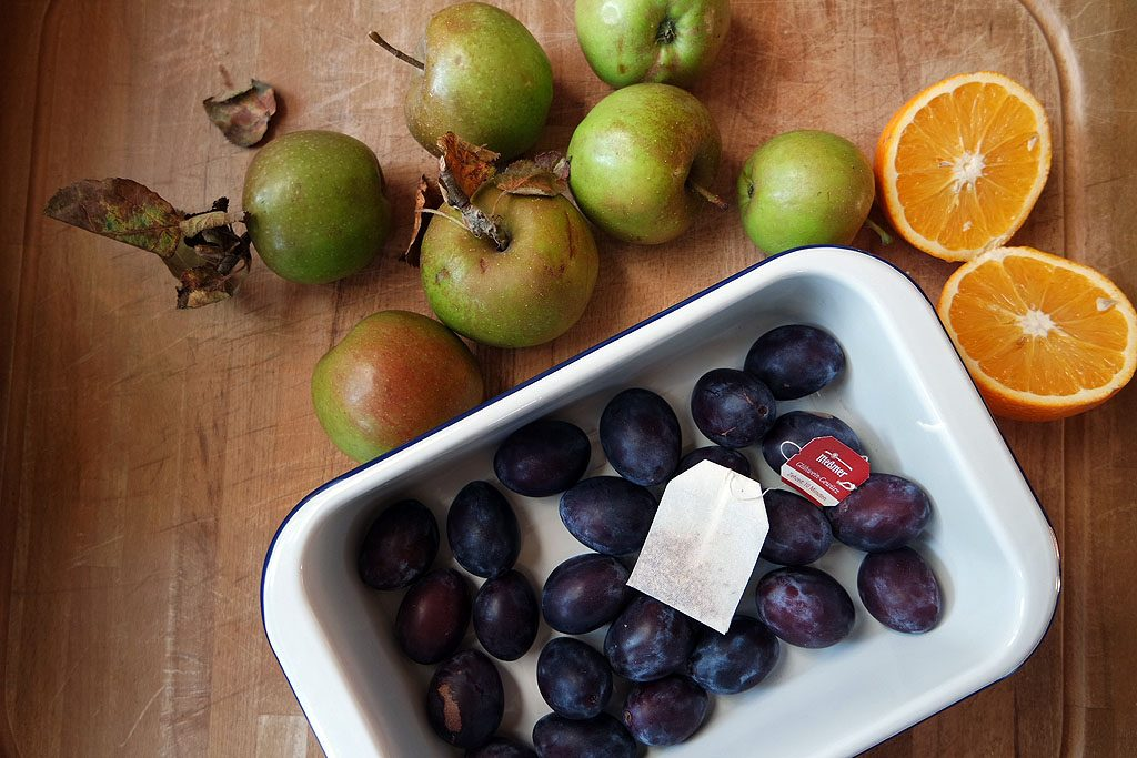 Apfel Schmand Kuchen Mit Vanillepudding Vom Blech