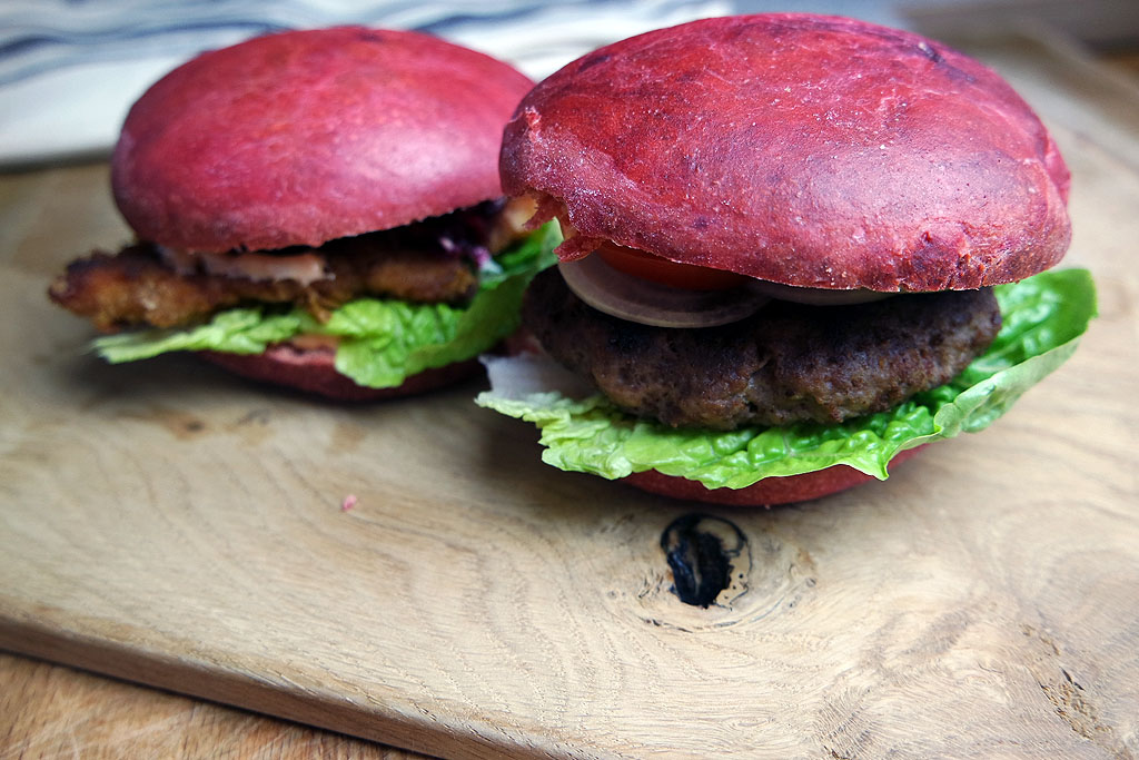 Rote Beete Burger