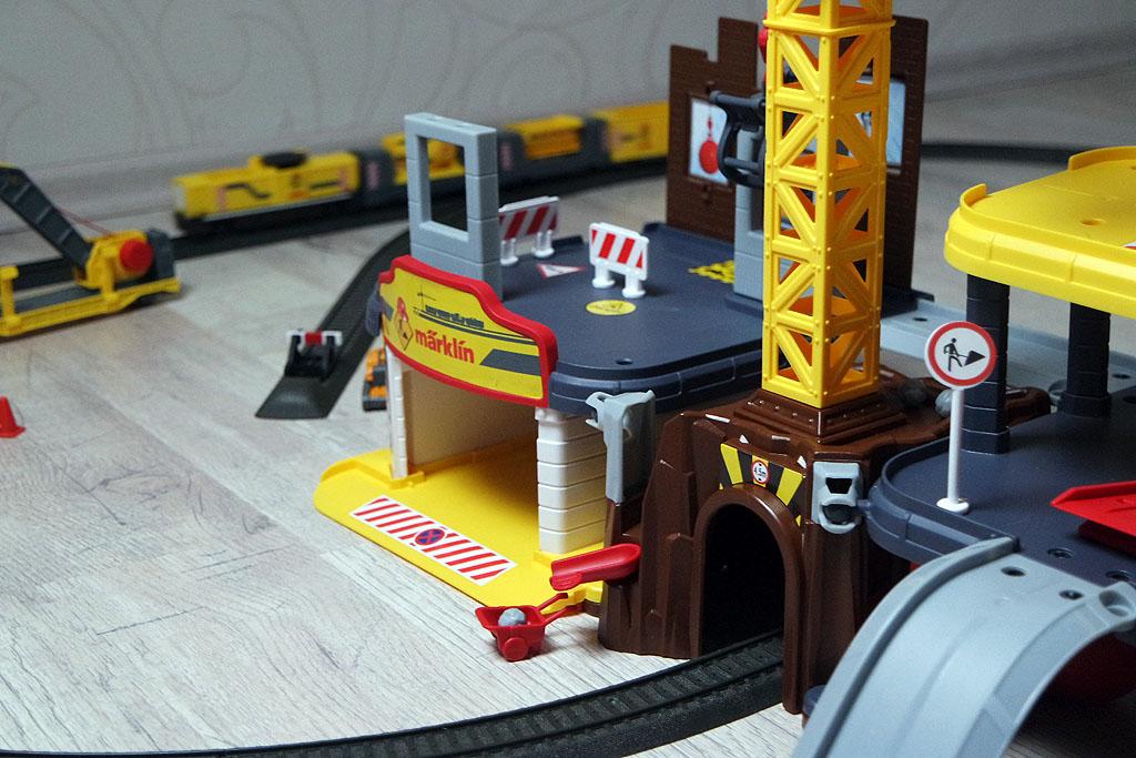 Aufbau der Märklin my World Baustellenstation