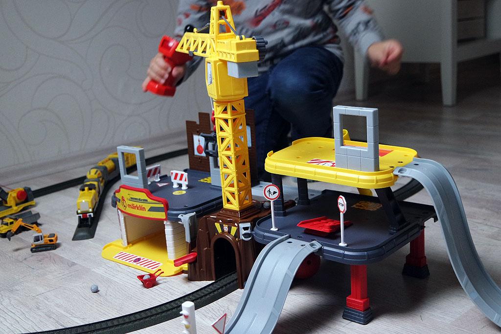 Aufbau des Märklin my World Baustellenstation