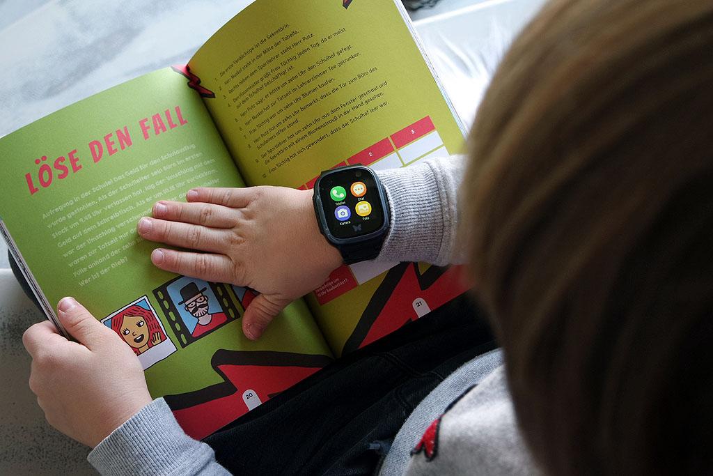 Übersicht Funktionen auf der Smartwatch