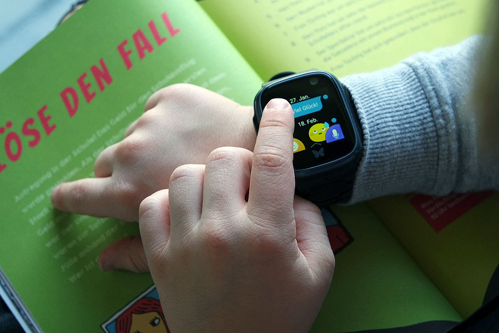 Chatfunktion der Xplora Smartwatch