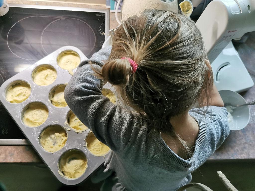 Cake Cups backen mit Kindern