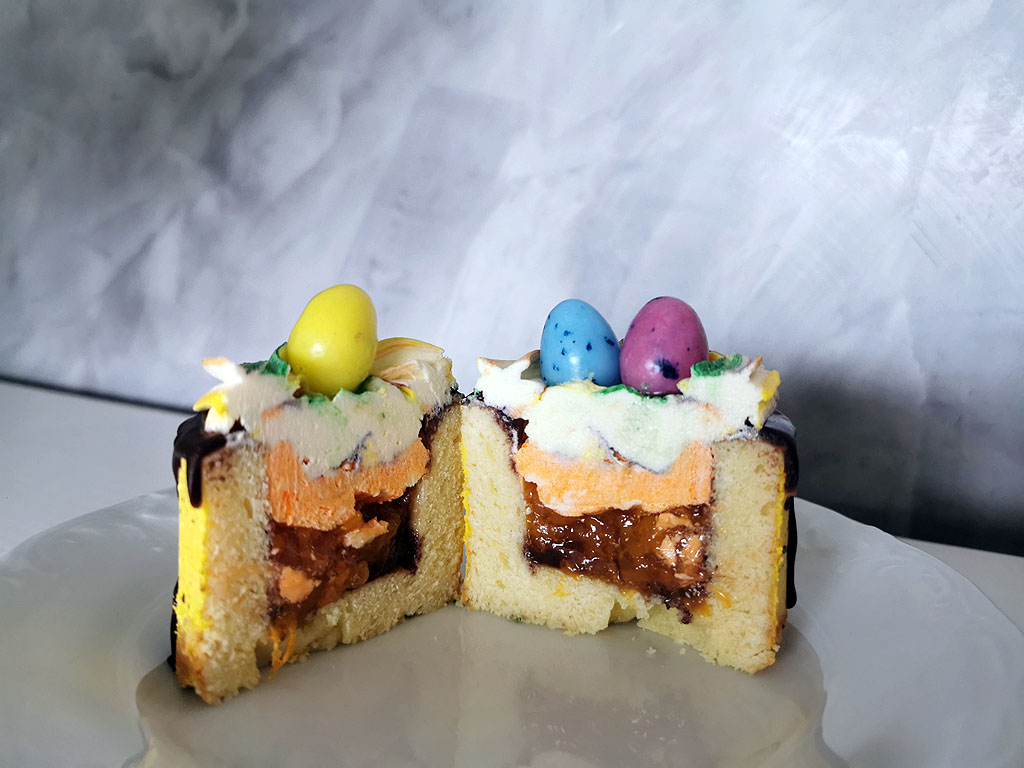 Gefüllte Törtchen zu Ostern