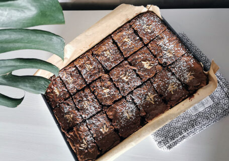Saftige, schokaldige Brownies