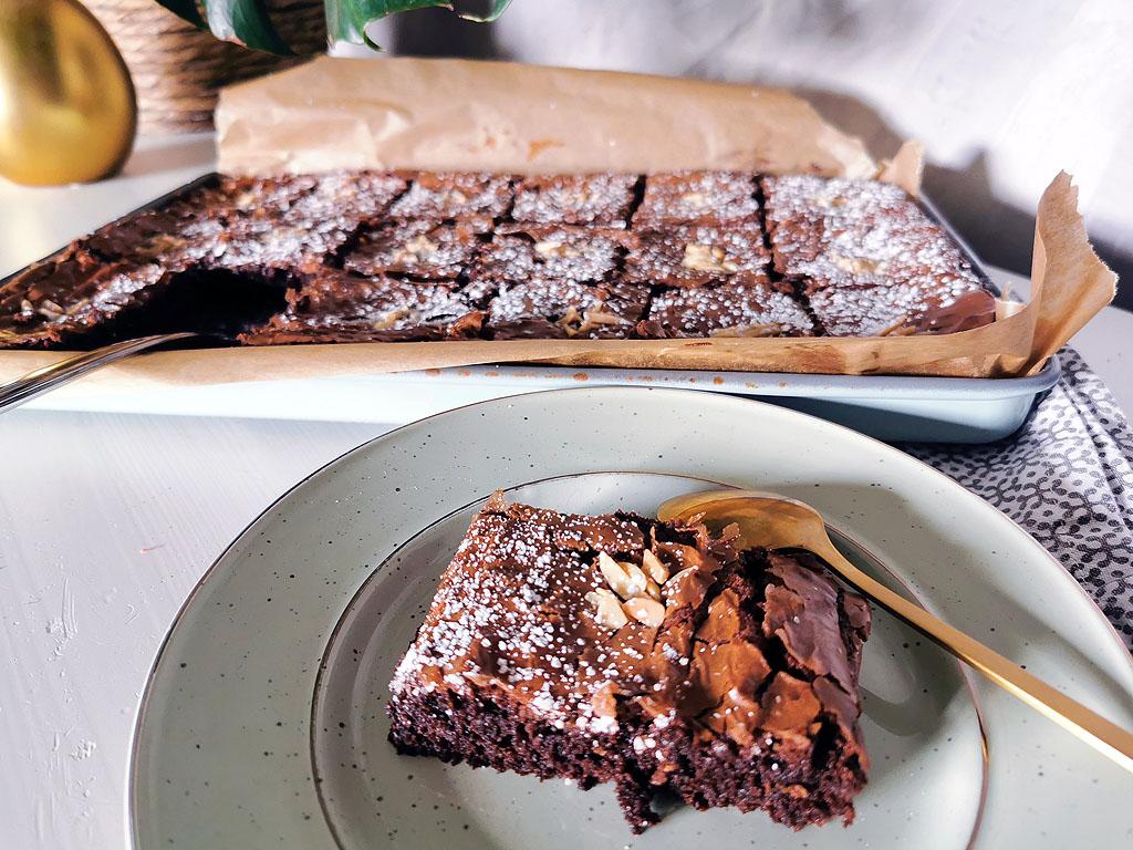 Brownies aus Osterschokolade