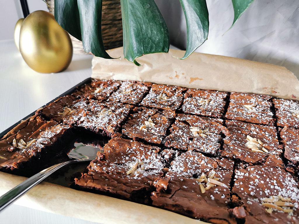 Brownies aus Schokoladenrest