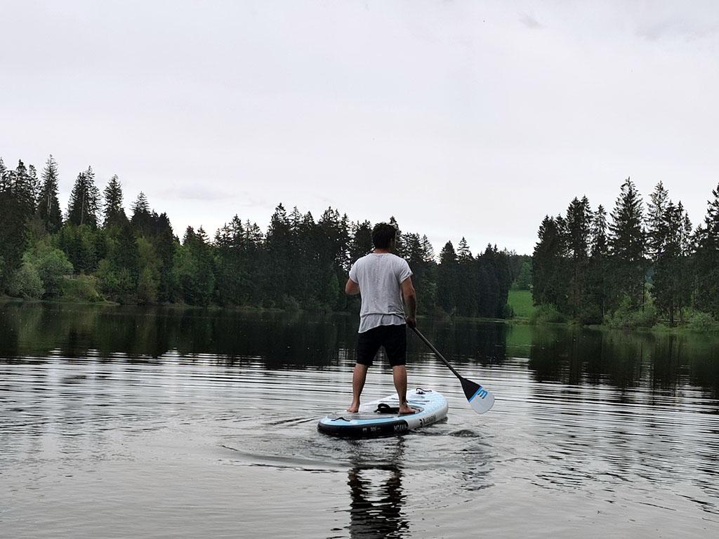 Sicher unterwegs beim Stand up paddlen