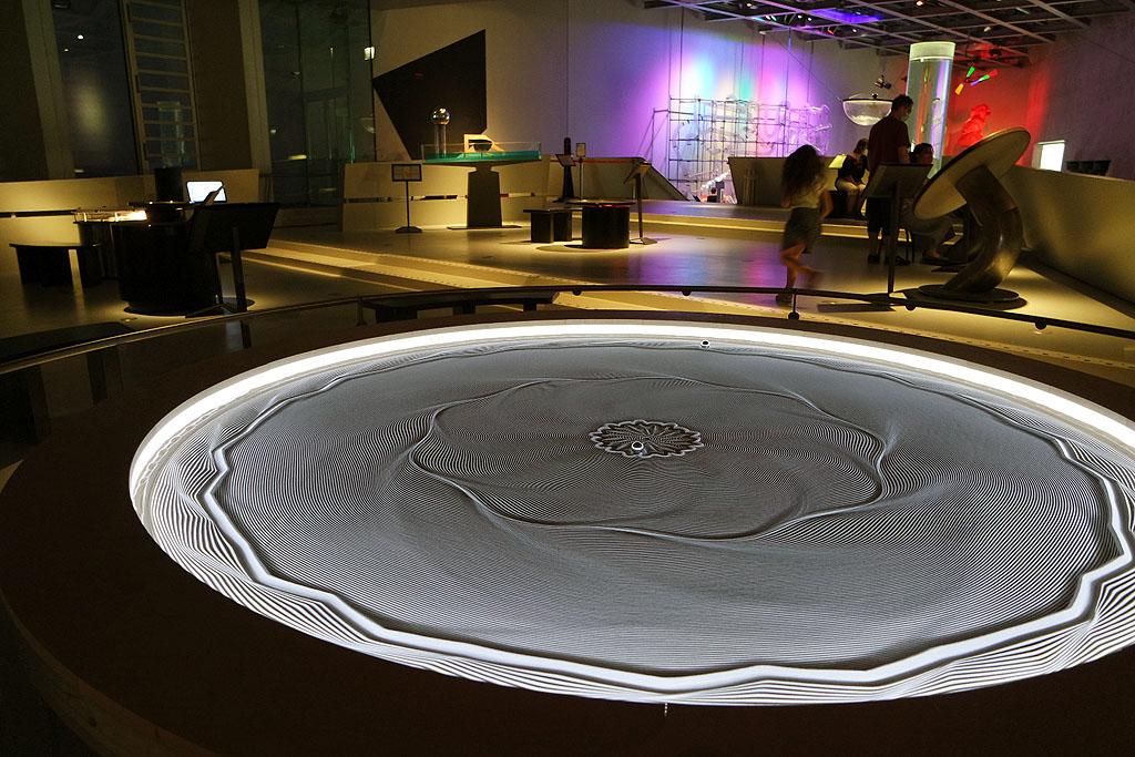 Magnetische Sand-Murmelbahn