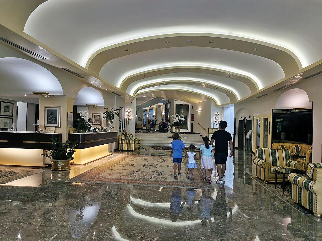 Eingangsbereich Grand Hotel Terme&Spa