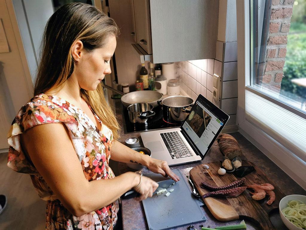 Online-Kochkurs mit OneChef